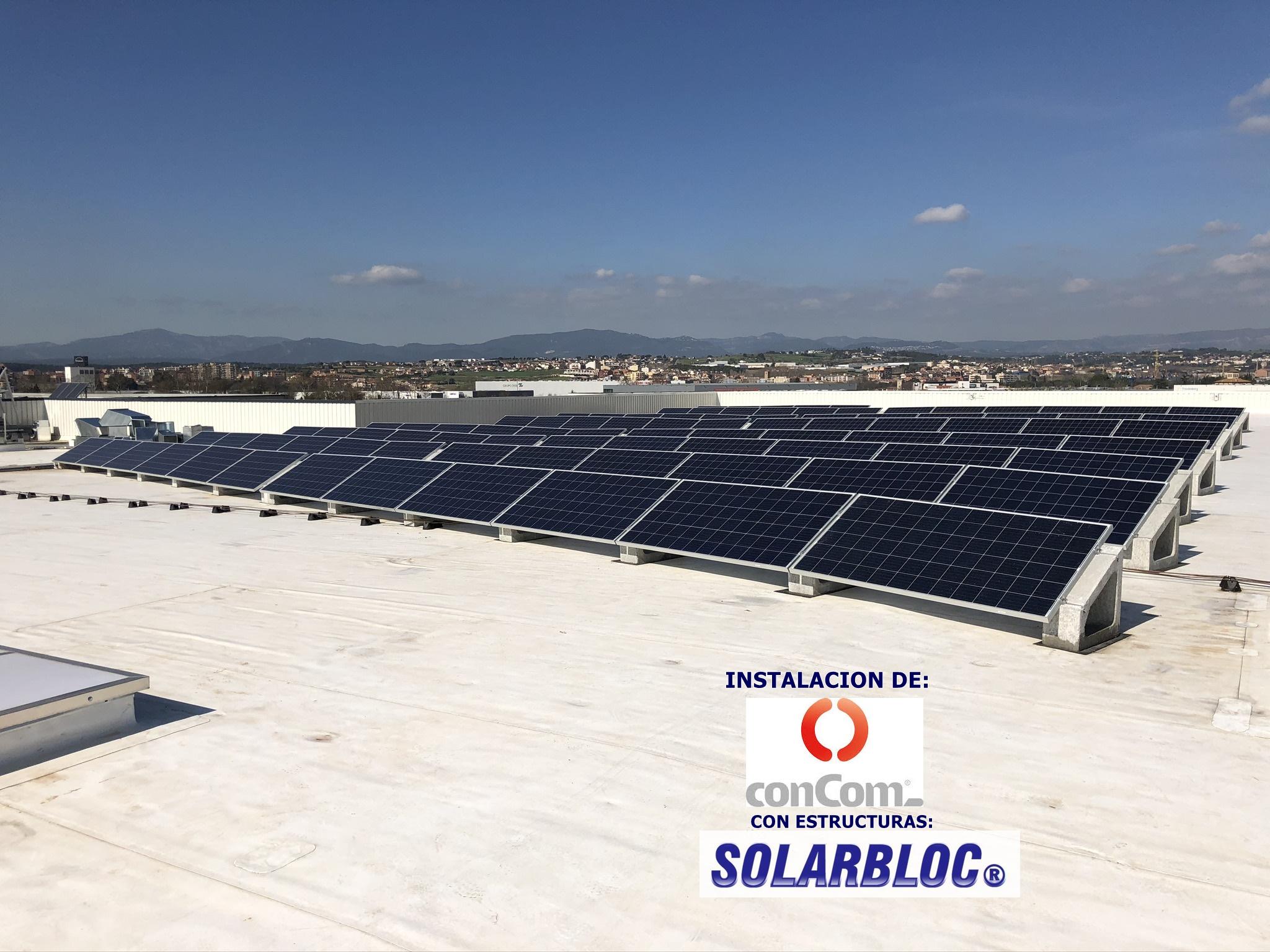Instalacion fotovoltaica en Parets 1