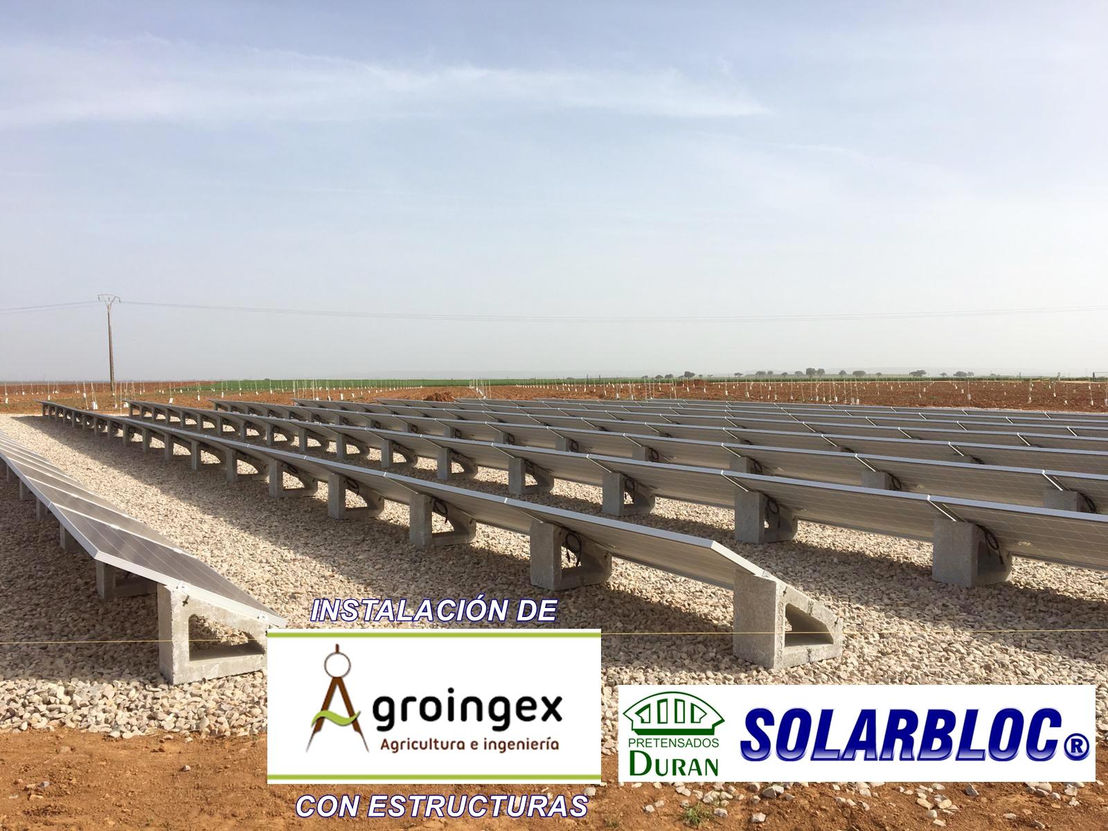 Instalación fotovoltaica en Toledo 1