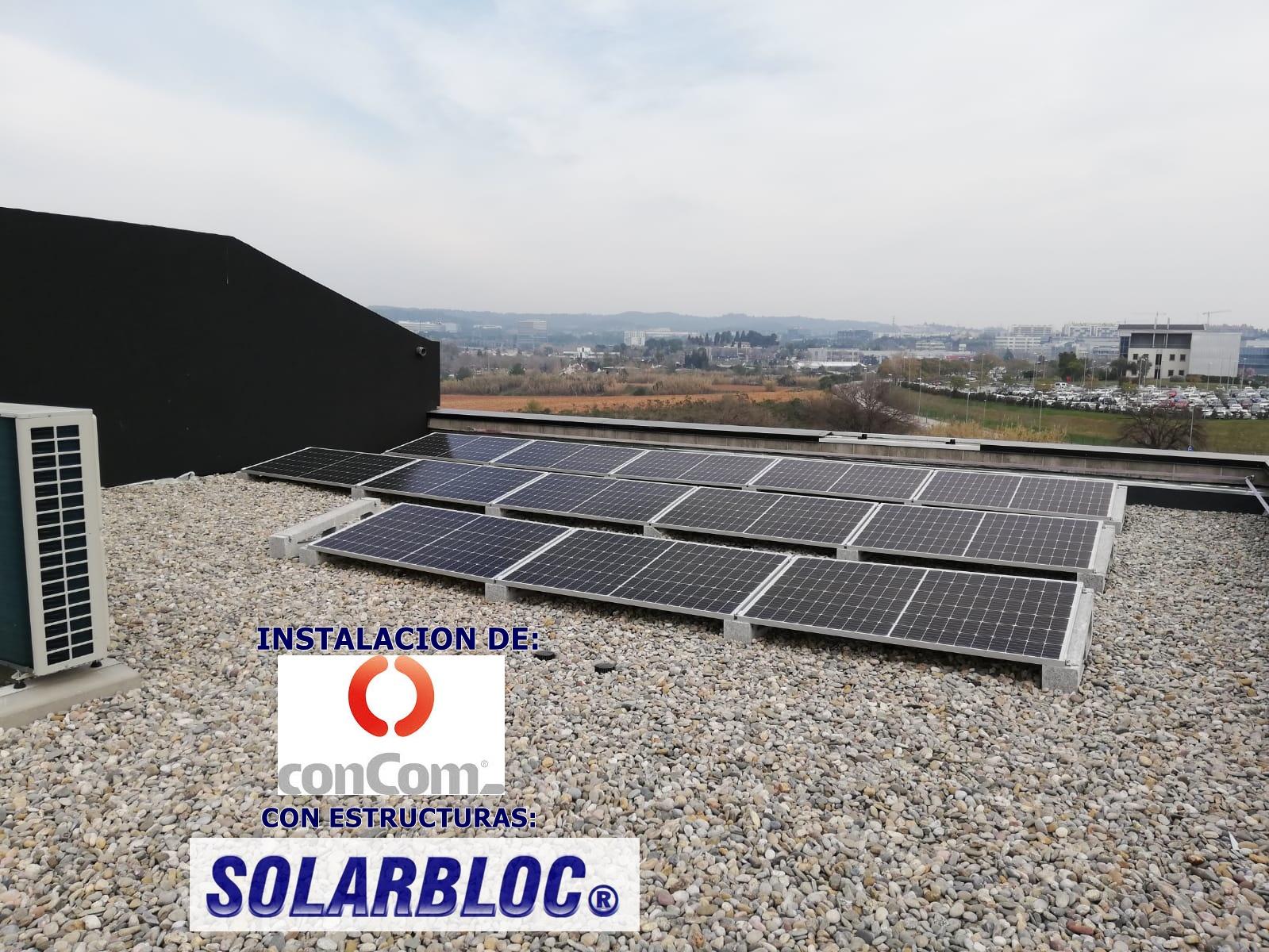 Instalacion fotovoltaica en Sant Cugat