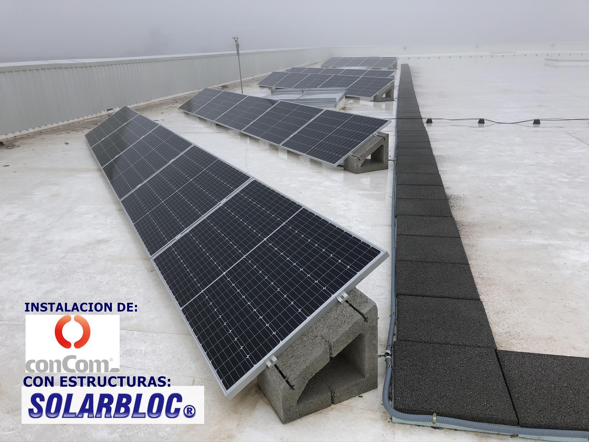 Instalacion fotovoltaica en Santa Perpetua