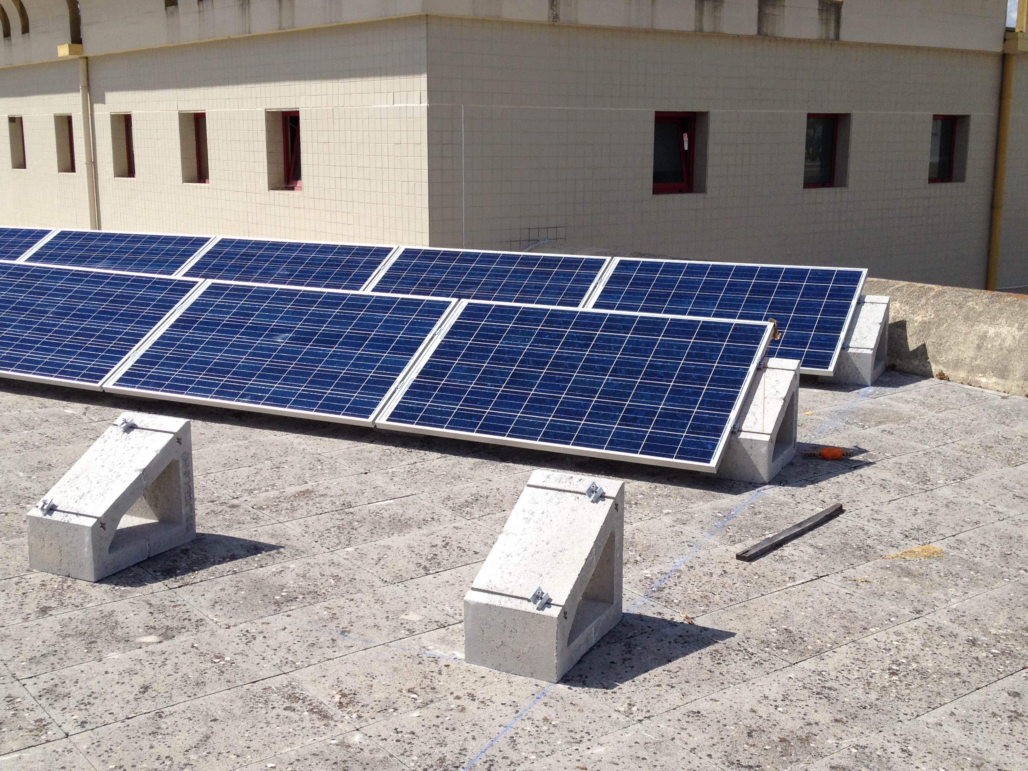 Soportes placas fotovoltaicas SOLARBLOC