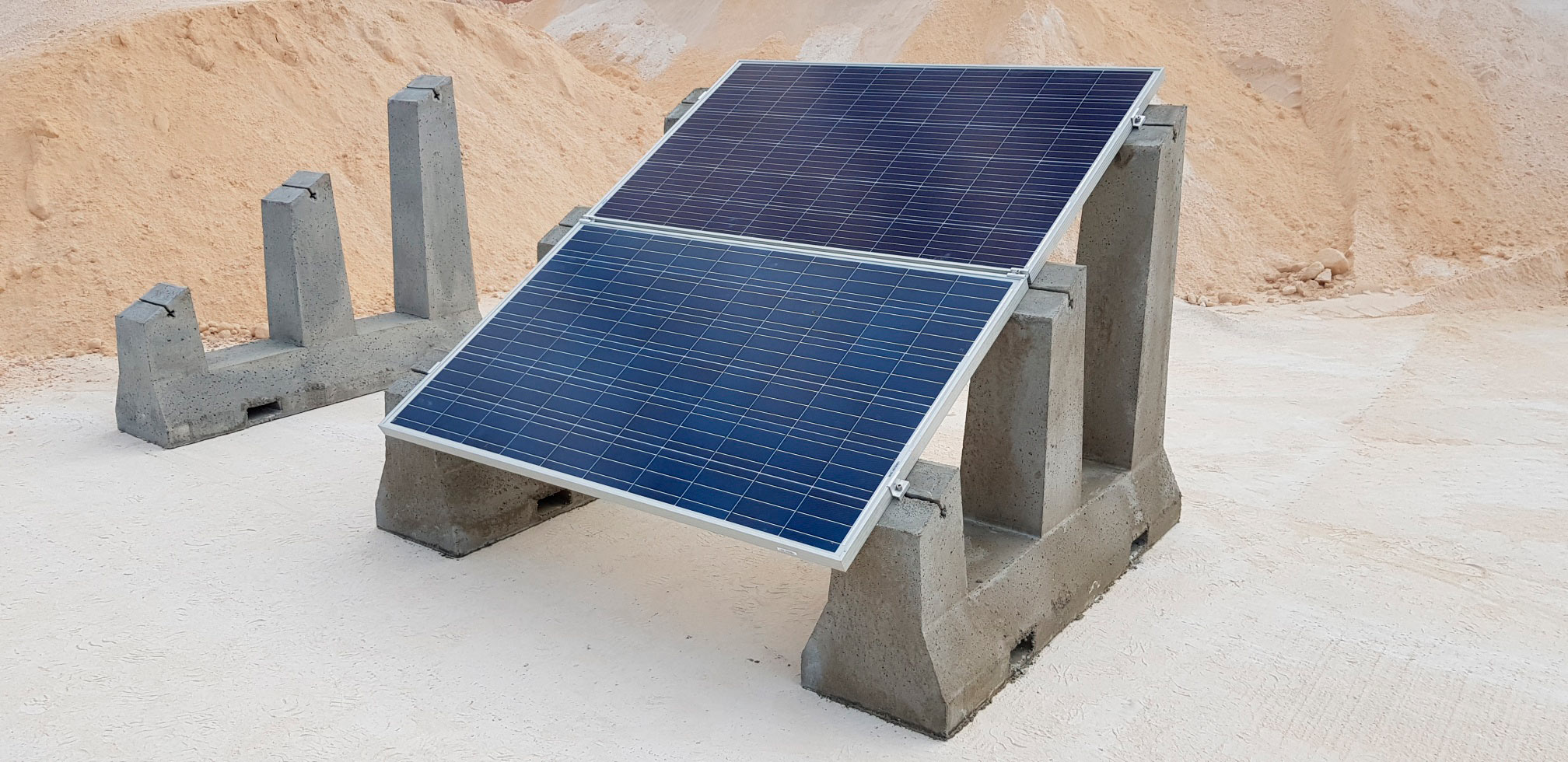 Soportes panel solar SOLARBLOC