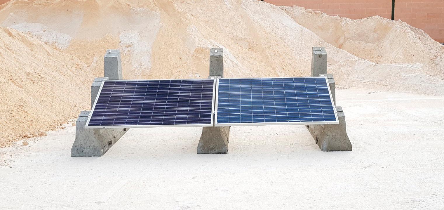 Soporte de paneles solares SOLARBLOC