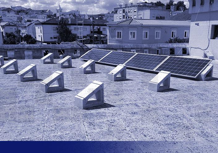 Soportes para placas solares tejado SOLARBLOC
