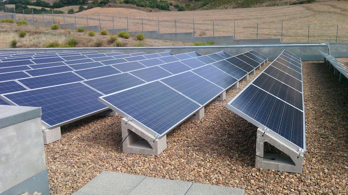 Soportes para paneles solares SOLARBLOC