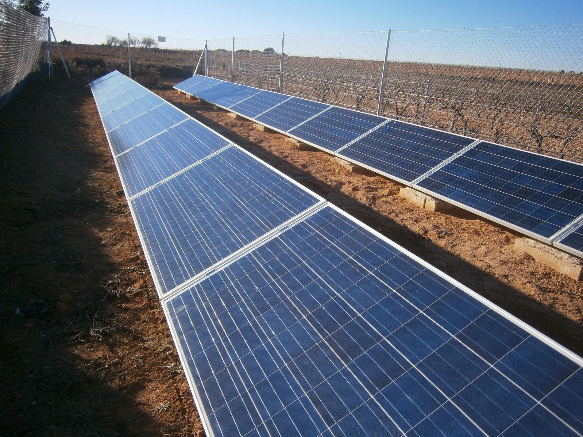Soporte placa solar SOLARBLOC