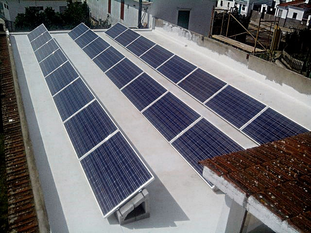 Soporte regulable para paneles solares SOLARBLOC