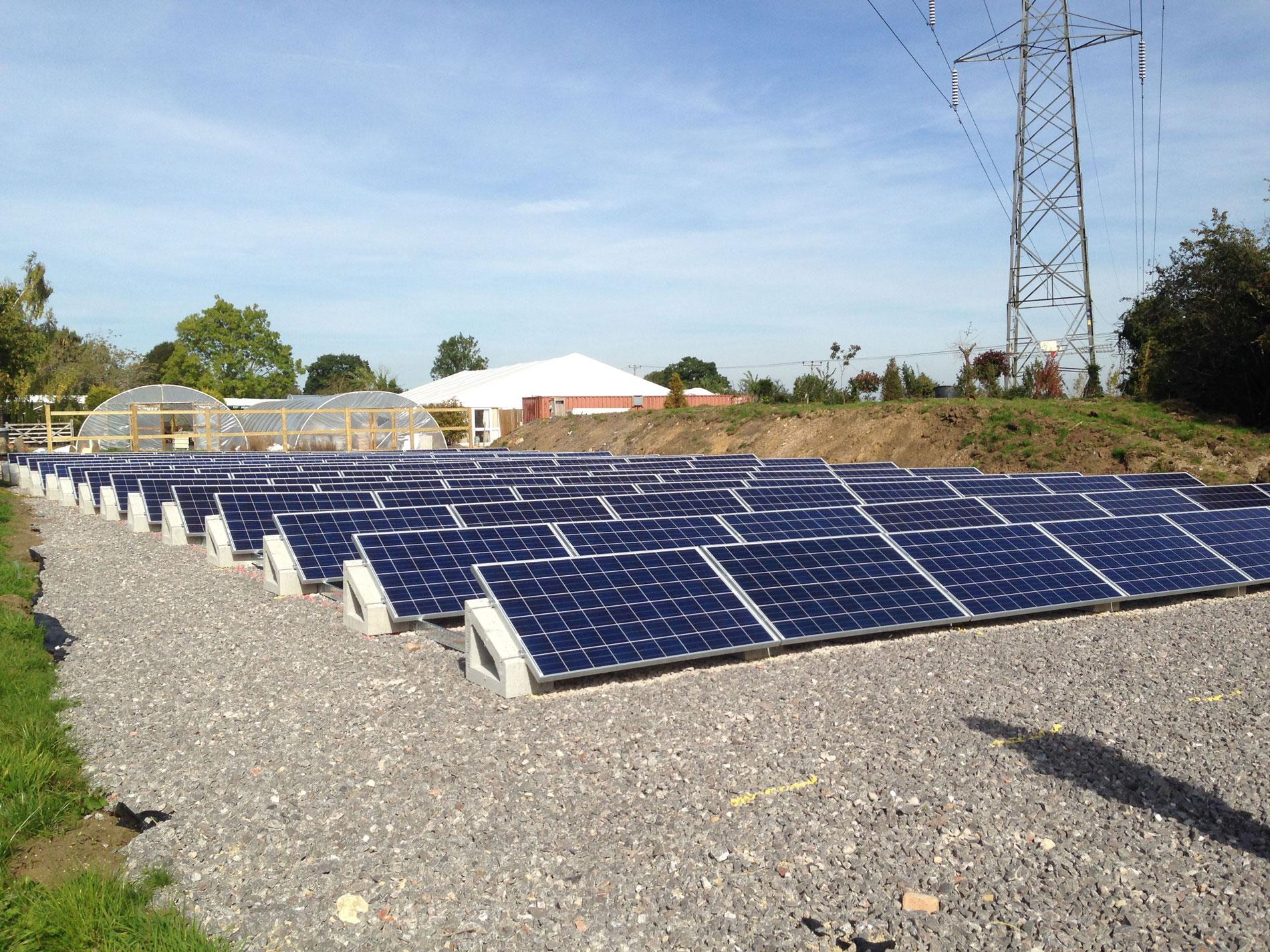Soportes placa solar SOLARBLOC