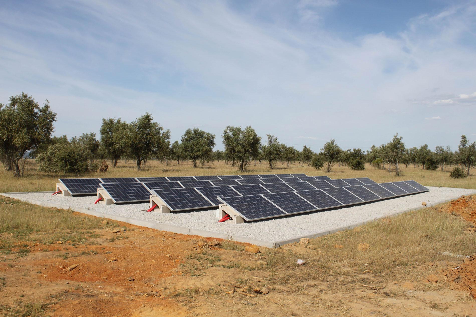 Soporte paneles solares fotovoltaicos SOLARBLOC