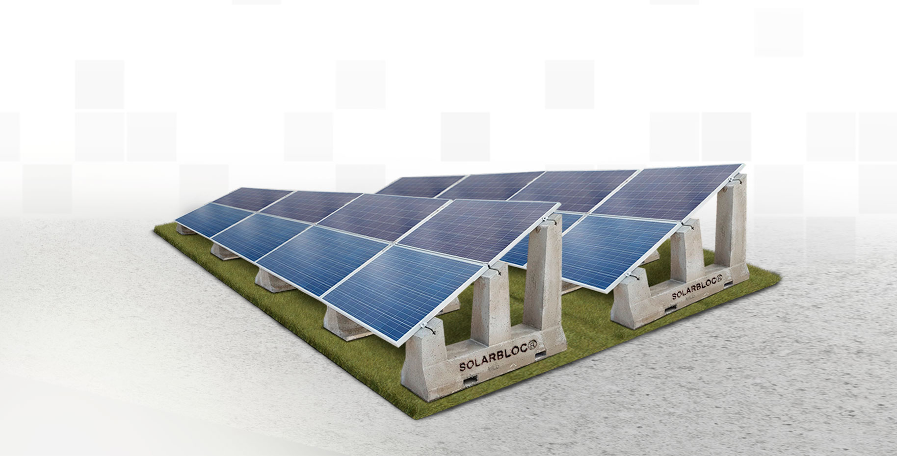 Estructura soporte paneles solares SOLARBLOC