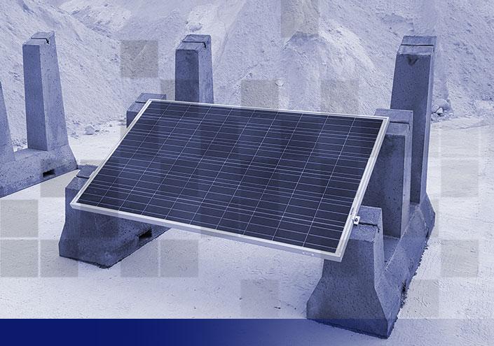 Soportes placas solares SOLARBLOC