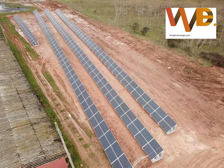 Soportes para placas solares grandes SOLARBLOC WDENERGIA