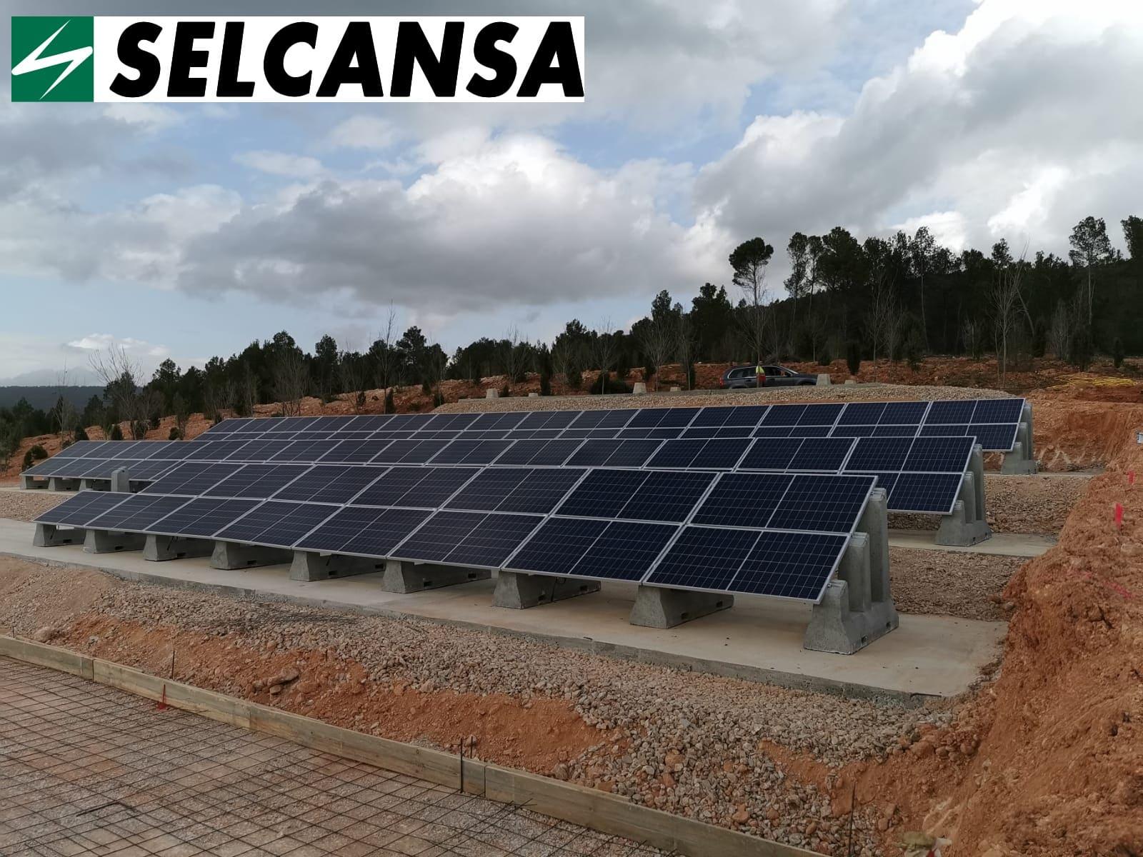 Soportes paneles solares SOLARBLOC SELCANSA