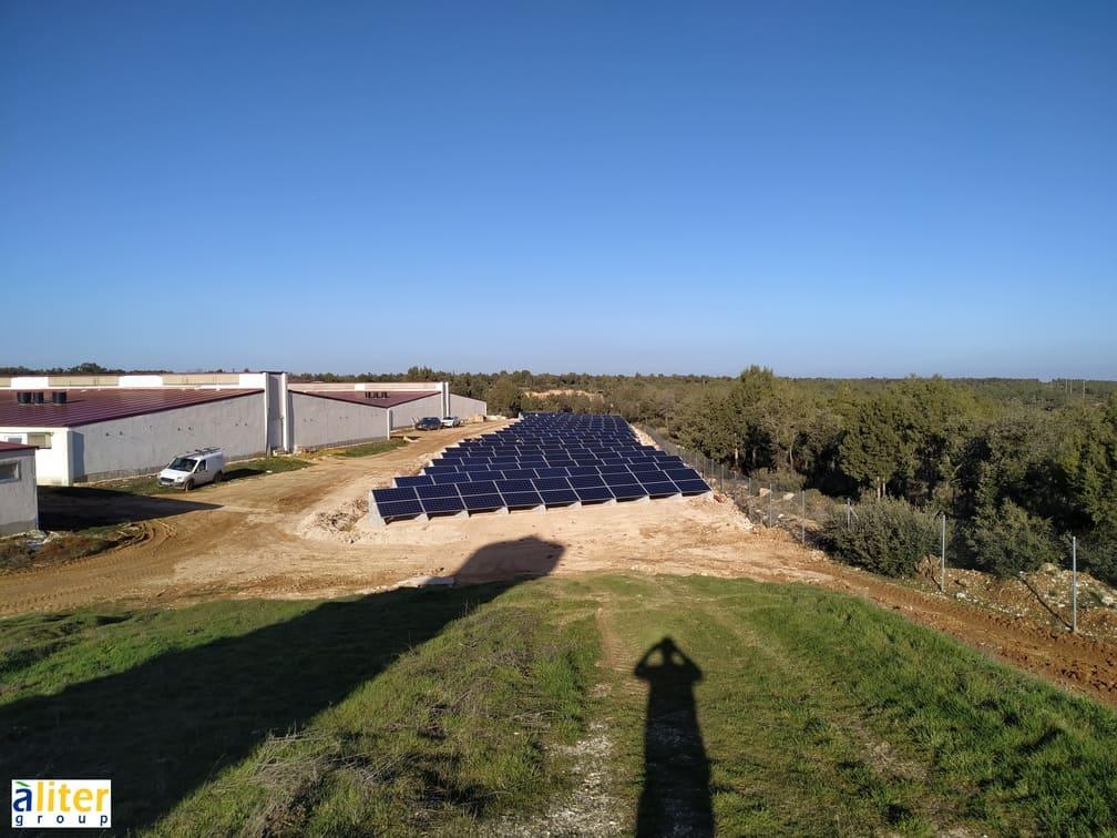 Soportes paneles solares SOLARBLOC ALITER