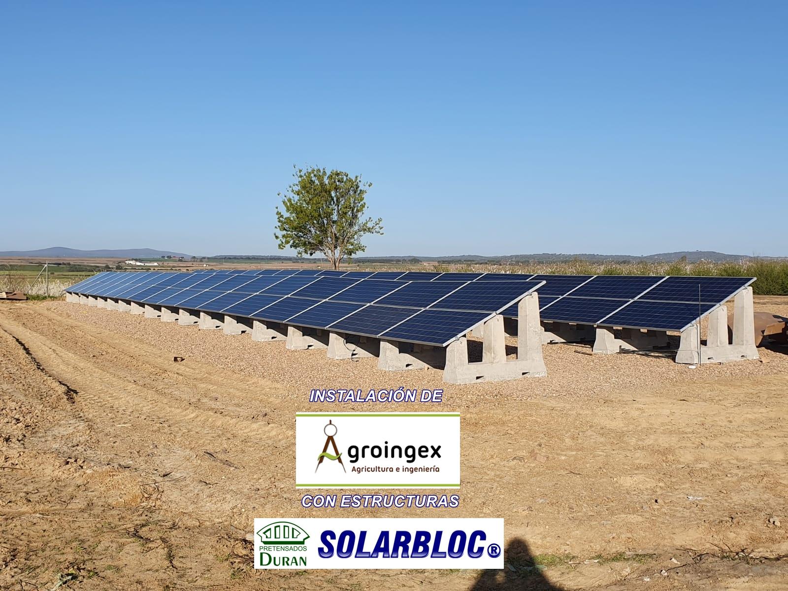 Soportess placa solar Agroingex SOLARBLOC