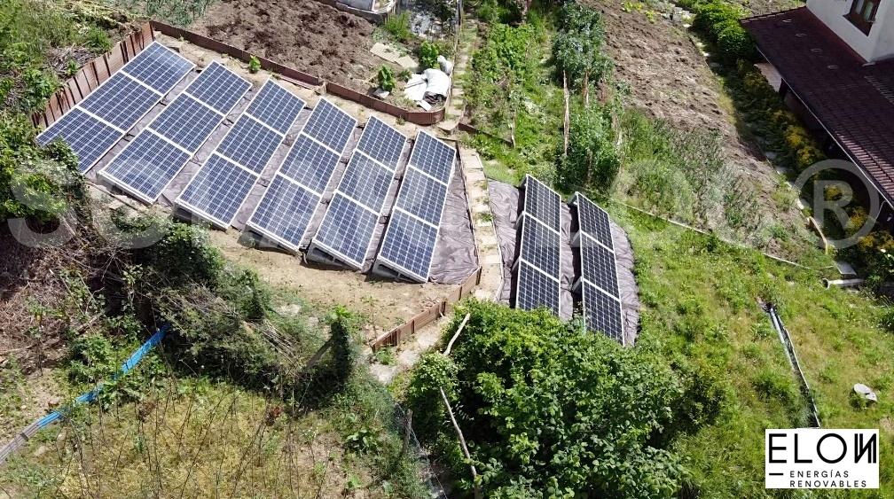 Soporte para paneles solares grandes SOLARBLOC