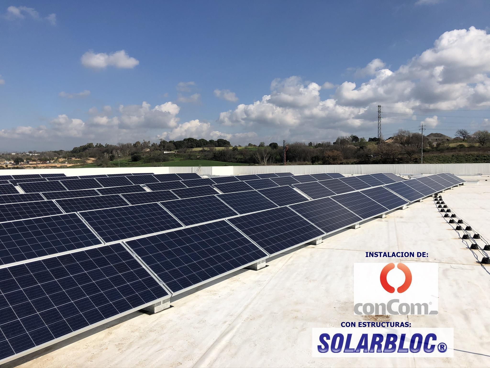 Instalacion fotovoltaica en Parets 2