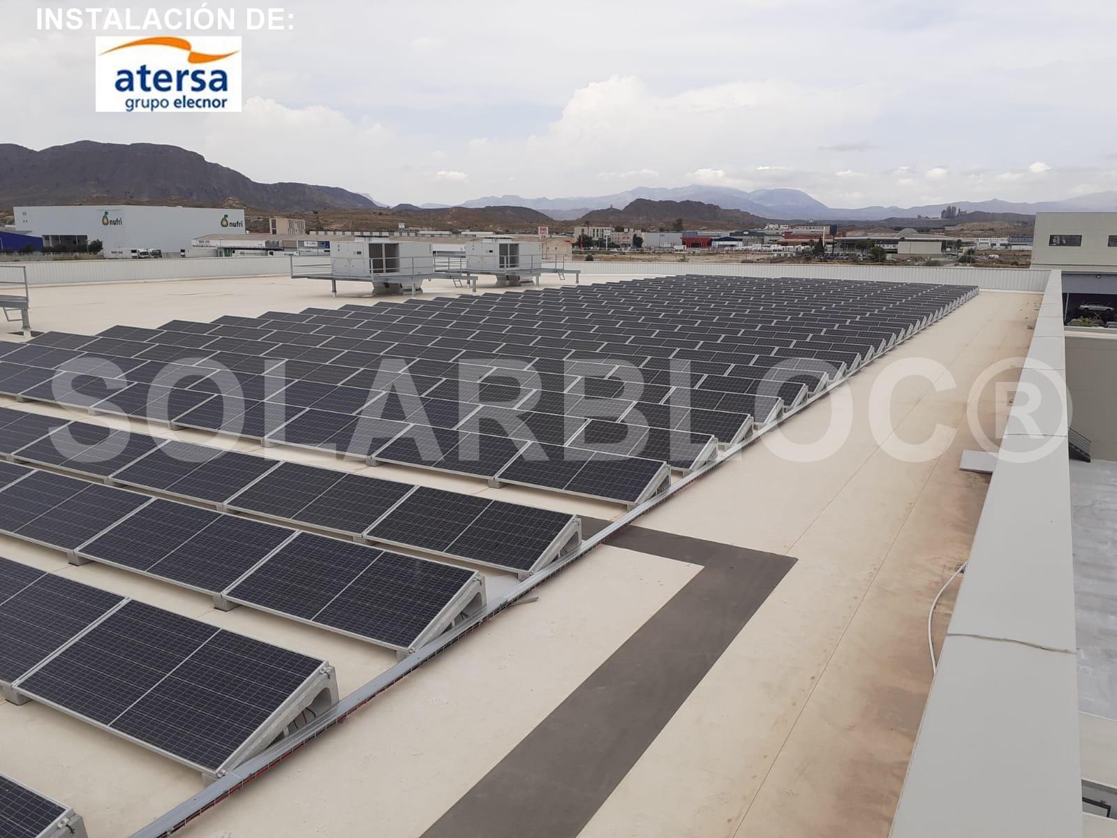 Soporte regulable para paneles solares SOLARBLOC ATERSA