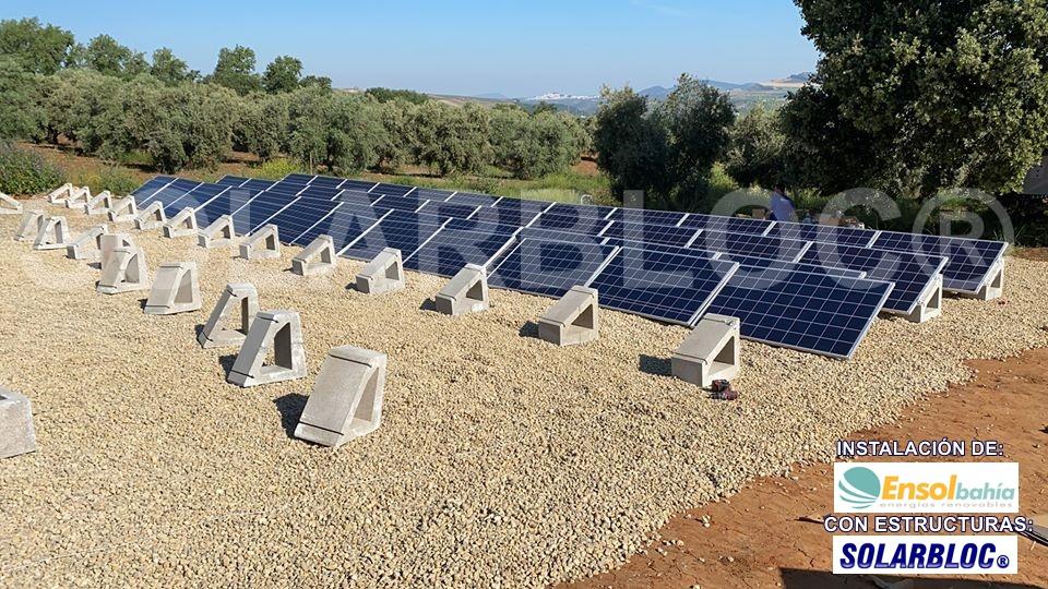 Soporte placa solar Ensol Bahía SOLARBLOC