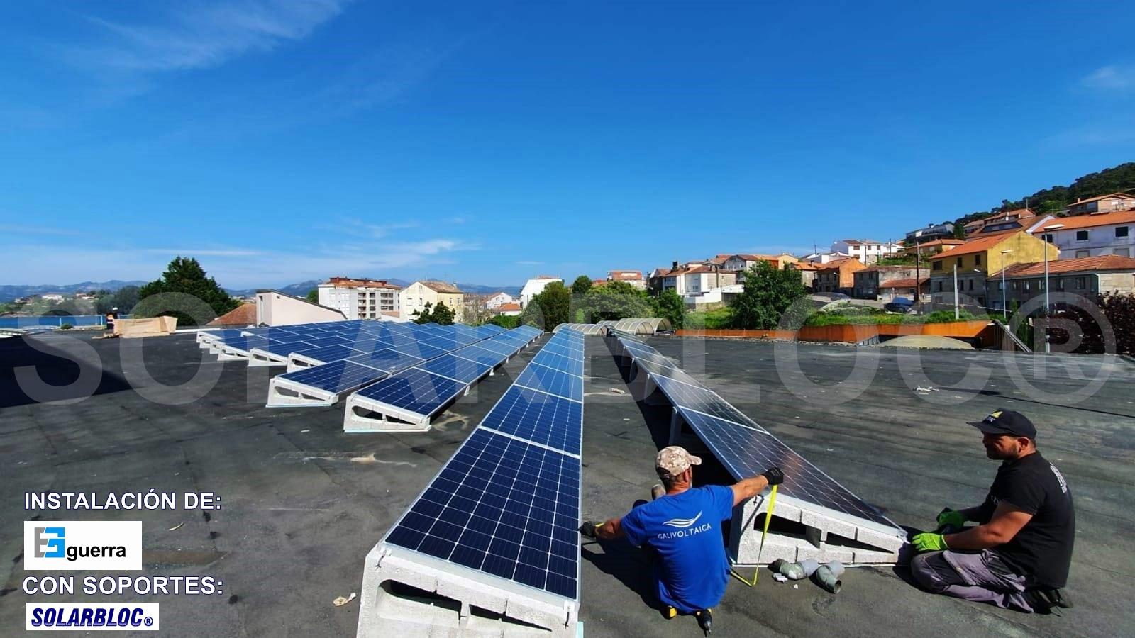 Soportes placa solar GUERRA SOLARBLOC