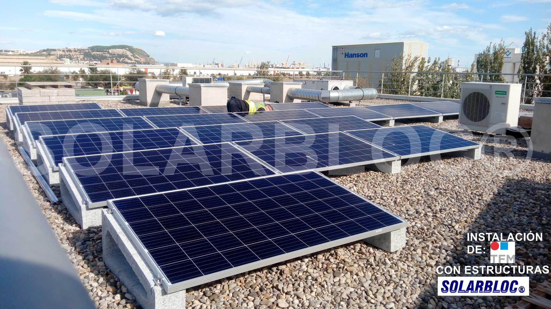 Soportes panel solar SOLARBLOC TFM