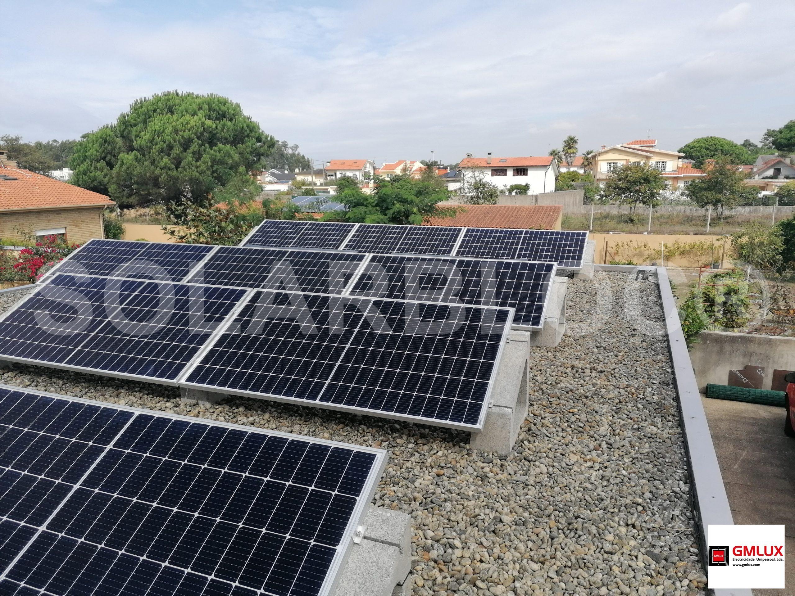Soportes para placas solares en tejado SOLARBLOC