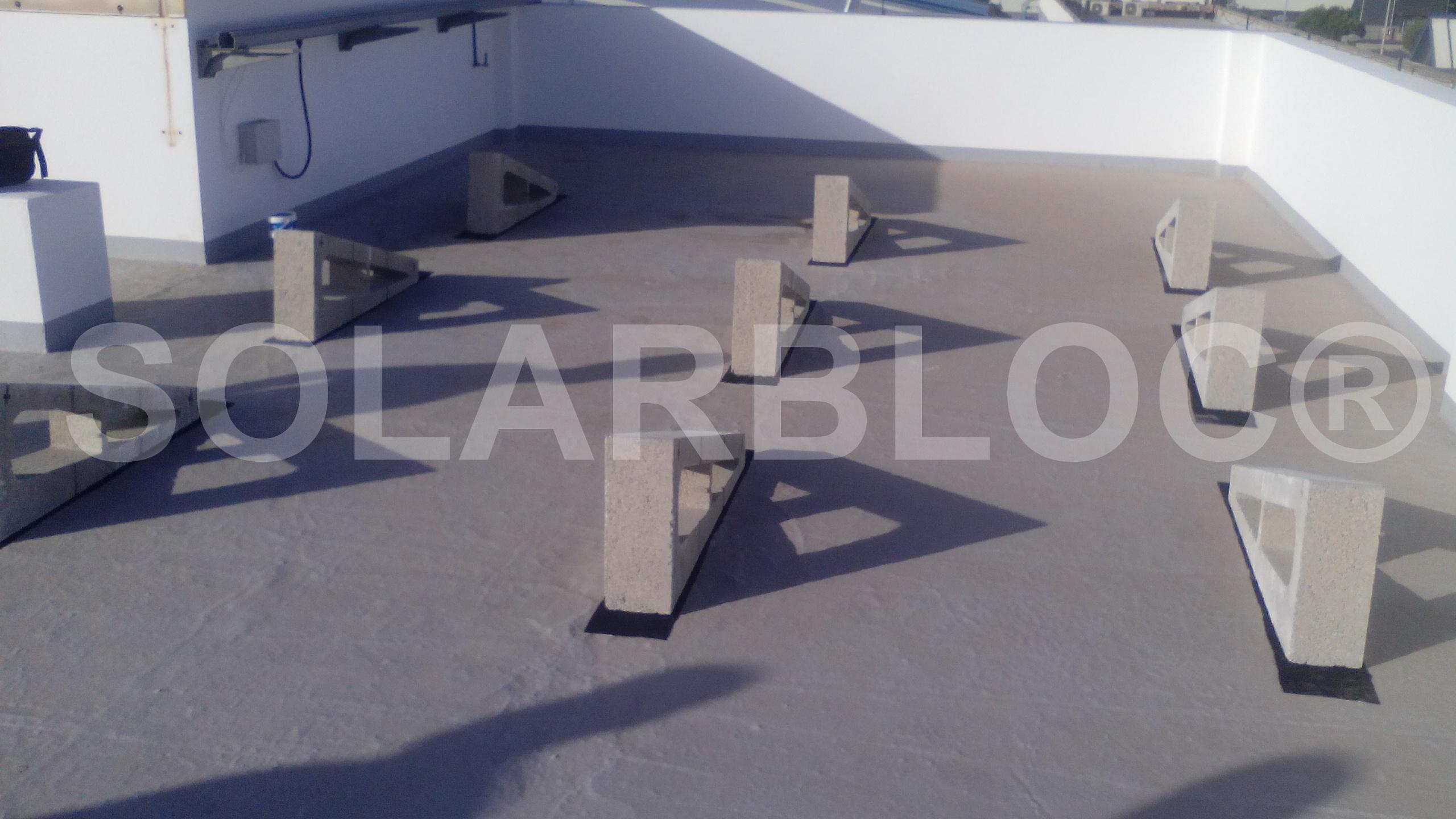 soportes placa fotovoltaica SOLARBLOC