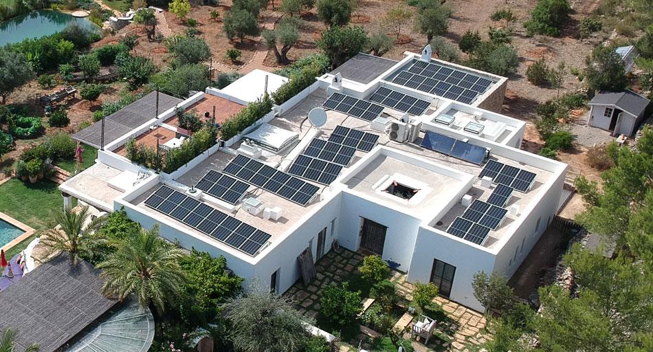 soportes para paneles solares en tejados planos