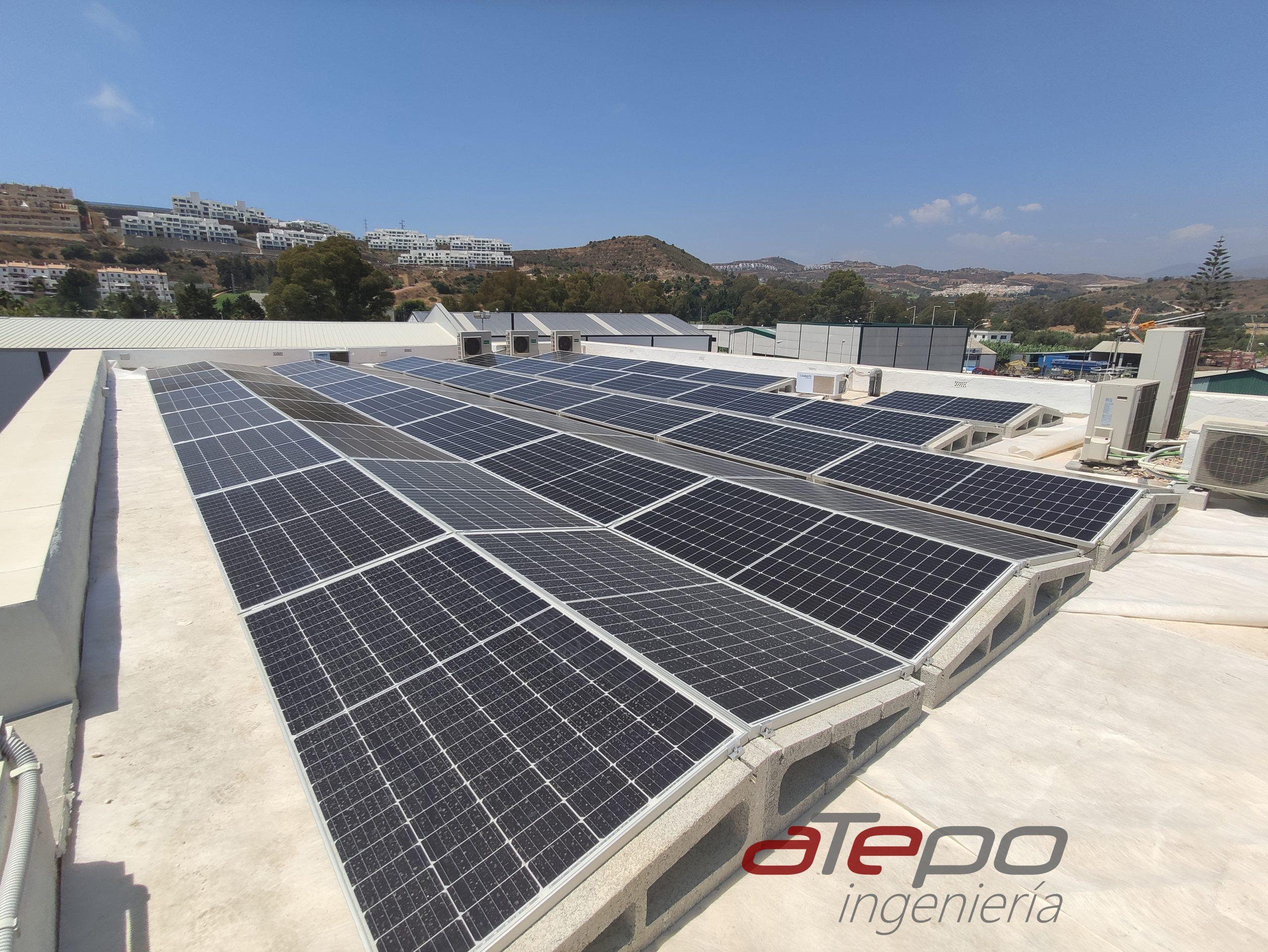 soportes paneles solares - solarbloc