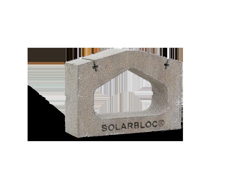 SOLARBLOC BASE (ESTE-OESTE) 15º